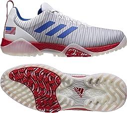 Footwear White/Team Royal Blue/Scarlet