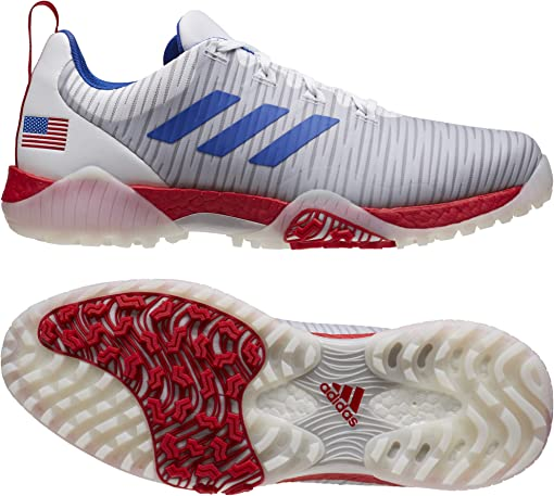 Footwear White/Team Royal Blue/Scarlet