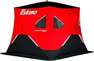 Eskimo FatFish Portable 3-4 Person Pop Up Ice Fishing