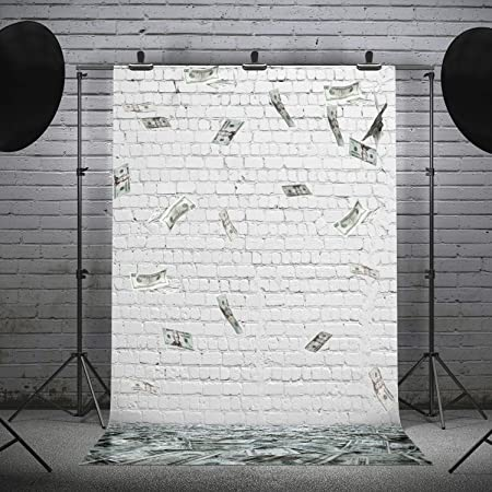 Money 10x15 FT Photo Backdrops,Hundred Dollar Bill Century Note Design American Currency Style Frame Pattern Background for Child Baby Shower Photo Vinyl Studio Prop Photobooth Photoshoot