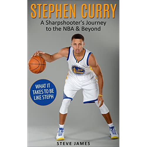 7ef32a1bc6e Amazon.com: Stephen Curry: A Sharpshooter's Journey to the NBA & Beyond (Stephen  Curry) (Basketball Biographies) eBook: Steve James, Stephen Curry: Kindle  ...