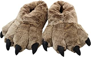 Timber Wolf Slippers