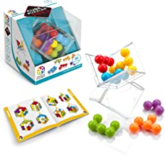 SmartGames Cube Puzzler PRO - 3D STEM Game - Brain Teaser for Ages 10 & Up, 80 Challenges in Portable Display Case.