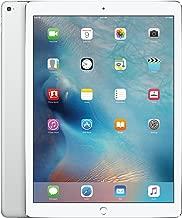 Apple iPad Pro (128GB, Wi-Fi, Silver) 12.9in Tablet (Renewed)