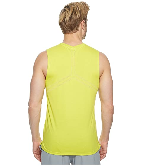ASICS Muscle Top Sulphur Tank Springs Run rfCwq5xr