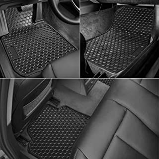 bonbo Floor Liner Mats for BMW 3 Series 2012-2018 & 2015+ F80 M3,Custom Fit,Front and Rear Seat Floor Mats,Heavy Duty Rubber,Odorless,All Weather Guard(Pack of 4)