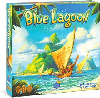 BLUE ORANGE Games Blue Lagoon Strategy Board Game