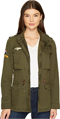 Four-Pocket Utility Jacket with Patches