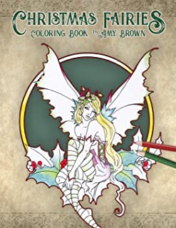 Christmas Fairies Coloring Book