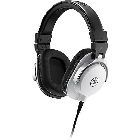 Yamaha Hph Mt5 Studio Kopfhörer Faltbare Monitor Kopfhörer Mit 3 M Kabel Und 6 3 Mm Standard Stereo Adapterstecker Weiß Musikinstrumente