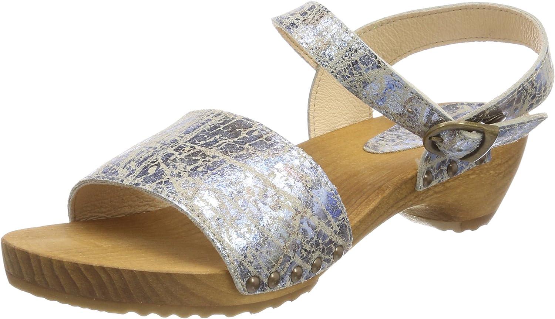 Sanita Carrara Suede Leather Sandals