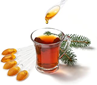Turkish Honey Pure Natural Safe Sealed Pine honey spoons for tea coffee healthy school snack or for sports individually wr...
