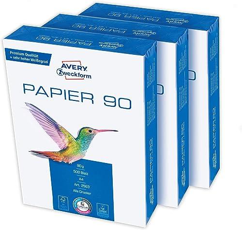 Papier A4 90 g 1.500Bl