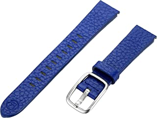 b&nd by Hadley Roma with MODE 16mm Leather Calfskin Blue Watch Strap