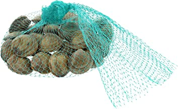 Royal Teal Plastic Mesh Produce and Seafood Bag, 24 Inch, Package of 100