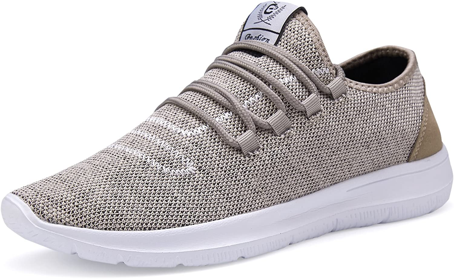 ZBXXMQZZ Men's Running shoes Lightweight Breathable Mesh Casual shoes Fashion Sneakers Walking shoes