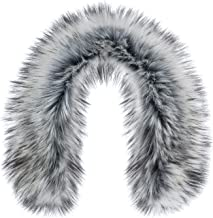 Futrzane Faux Fur Trim For Hood Replacement - Like Real Fur - Buttons Included