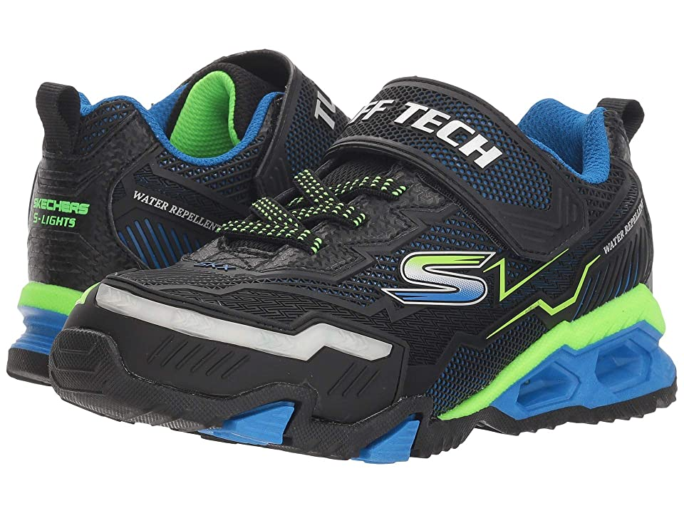 SKECHERS KIDS Hydro Lights 90715L Lights (Little Kid/Big Kid) (Blue/Black/Lime) Boy