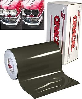ORACAL Dark Smoke Transparent Overlay Headlight Tint Vinyl 12 Inches x 6 Feet Roll