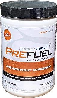 Sponsored Ad - Prefuel Pre-Workout Energizer | 100% Natural | Sugar Free | Gluten Free | Non-GMO | Vegan | Great Tasting O...