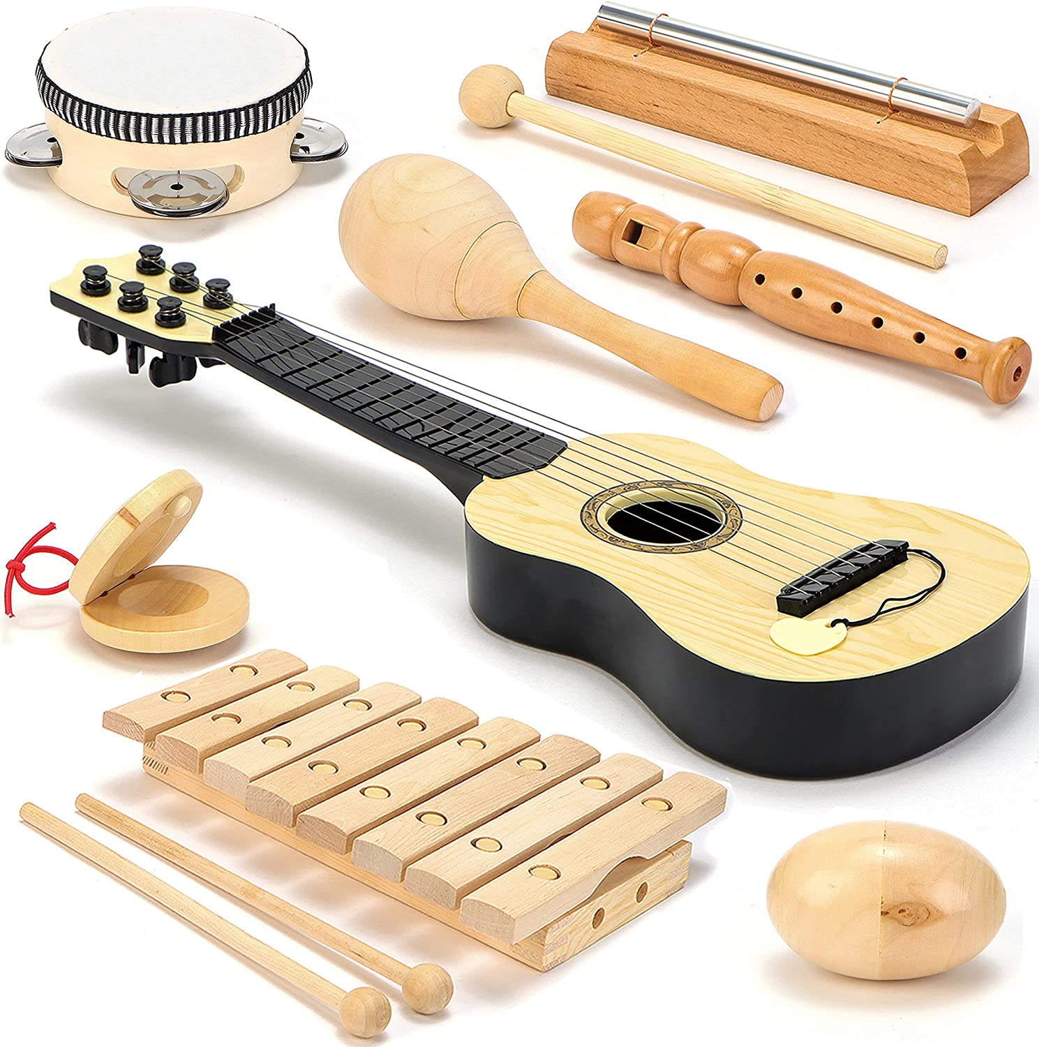 Wooden Musical Instruments for Kids Class Band Low price School Challenge the lowest price Preschool