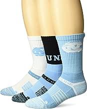 Strideline NCAA Men's Crew Socks 3 Pack