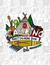 Camping Adult Coloring Book: Beautifully Designed Pictures for Your Coloring Pleasure