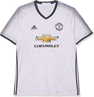 Adidas Manchester United FC Official 2016/17 SS Third Jersey - Adult - White/Bold Onix -