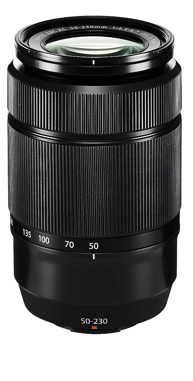 宝石施しビジョンFUJIFILM 望遠ズームレンズ XC50-230mmF4.5-6.7OISII XC50230/F4.5-6.7OISIIブラック