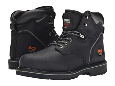 Timberland PRO 6 Pit Boss Steel Toe (Black Oiled Full-Grain Leather) Men