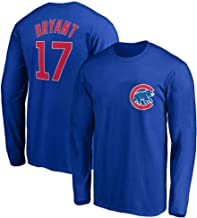 Outerstuff MLB Youth 8-20 Team Color Player Name and Number Long Sleeve Jersey T-Shirt