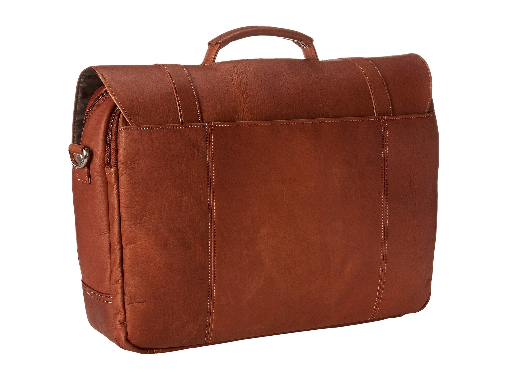 Case computer Colombian Kenneth Cole Leather Portfolio Cognac Reaction Flapover vYx0PqRx