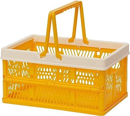 折叠 堆叠 容器盒 黄色 Small 400729802