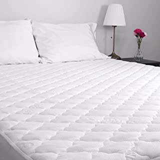 Arkwright CoolMax Quilted Mattress Pad, Mattress Cover Stretch Skirt up to 15 Inch Deep, Mattress Topper Breathable, Hypoallergenic, Water Resistant, Noiseless, Soft and Durable (Twin XL)