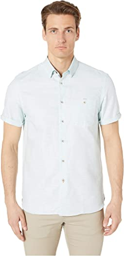 Clion Short Sleeve Linen Shirt