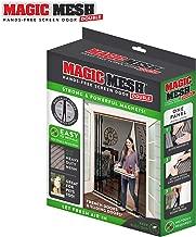 Magic Mesh Double Door- Hands Free Magnetic Screen Door, Fits French & Sliding Doors 75 in x 83 in