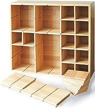 Multikeep Adjustable Shelf - Spice Rack, Floating Shelf, Figurine Shelf, Shadow Box or Drawer Organizer - for Wall Mount, ...