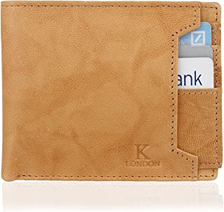 K London Tan Men's Wallet