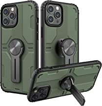 Nillkin Compatible for iPhone 12 Pro / 12 Case, Medley Case with Assembled Kickstand, PC & TPU Impact-Resistant Bumpers Pr...