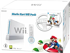 Nintendo Wii - Console Mario Kart Pack con Mario Kart + Wii Wheel + Remote Plus Controller [Edizione: Germania]