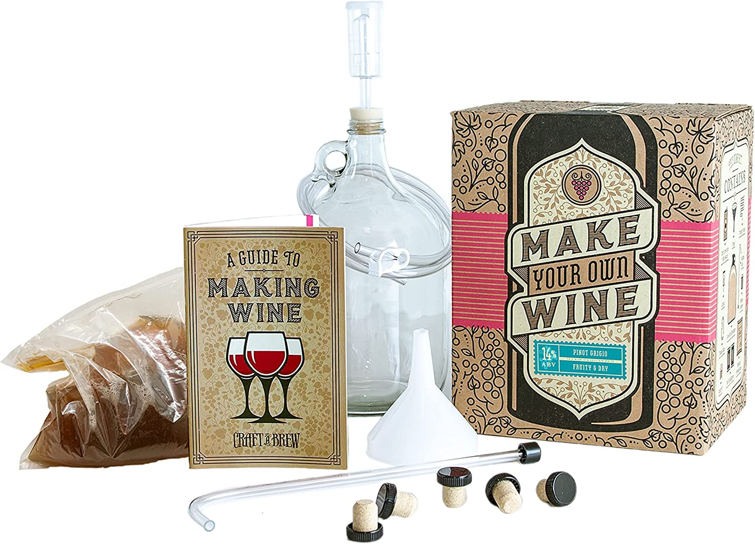 Craft a Brew Making Home Award Kit – Easy Beginners Max 47% OFF with Ing