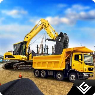 City Road Builder Heavy Construction Excavator Simulator: Heavy Machinery Crane City Builder Tycoon Adventure 3D Games Free For Kids