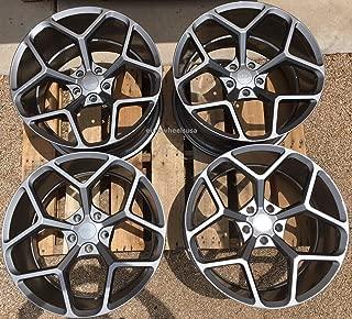 20x10/20x11 MRR Chevy Camaro Style M228 5x120 35/43 Gun Metal Wheel fit E set(4)