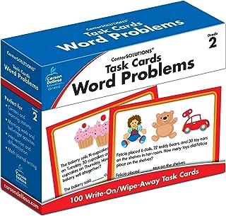 Carson-Dellosa Task Cards, Word Problems (140102)