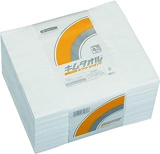 【ケース販売】 クレシア キムタオル ホワイト 4つ折り ストロング 4プライ 50枚/束 ×24束入 定番のキムタオル4つ折りよりも強度アップ 61081