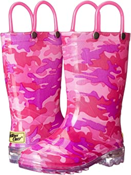 Western Chief Kids - Neo Camo Lighted (Toddler/Little Kid)