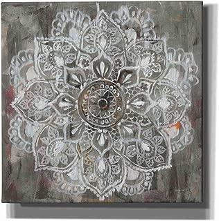 Epic Graffiti Mandala in Neutral Ii by Danhui NAI Giclee Canvas Wall Art 26
