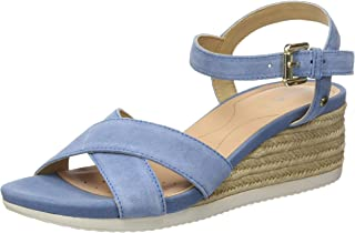Geox Women's D Ischia Corda C Open Toe Sandals