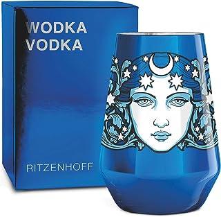 RITZENHOFF Next Vodka Vodkaglas von Medusa Dollmaker, aus Kristallglas, 300 ml