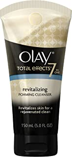 Facial Cleanser by Olay Total Effects Revitalizing Foaming Face Cleanser, 5.0 Fluid Ounce Packaging may Vary
